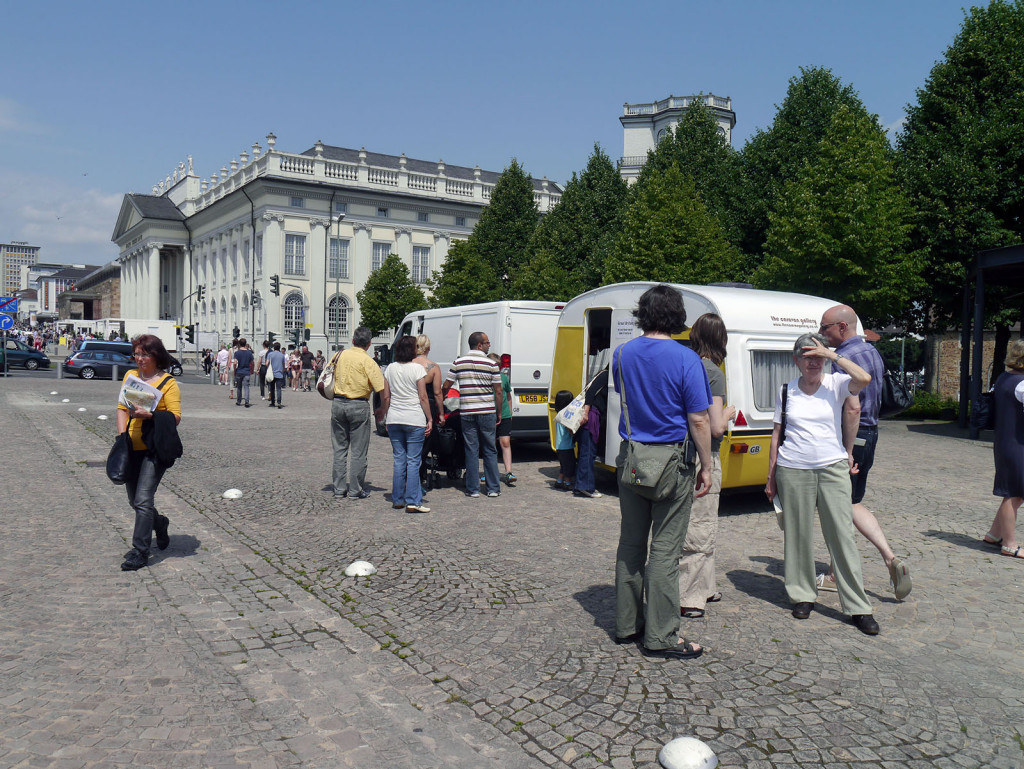 Popping Up in Documenta, Kassel, Germany