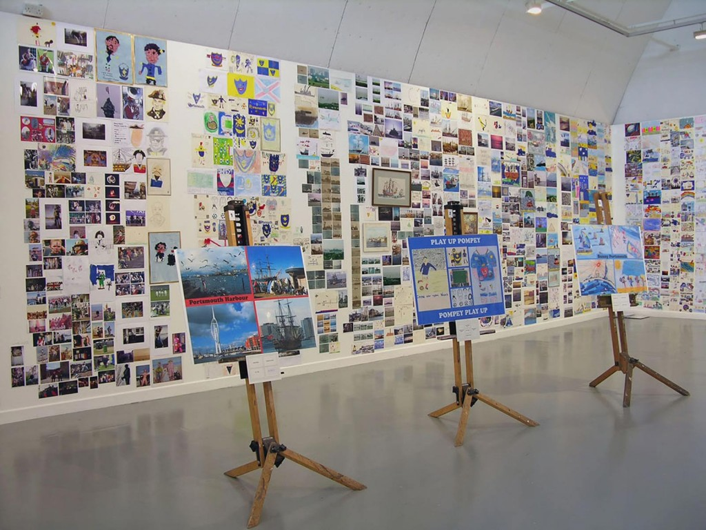 Postcards-from-Portsmouth-exhibition-at-Aspex-Gallery,-Portsmouth